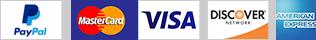PayPal Credit Card Badges